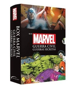 BOX MARVEL GUERRA CIVIL E GUERRAS SECRETAS