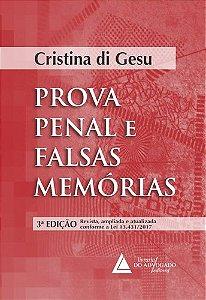 PROVA PENAL E FALSAS MEMÓRIAS