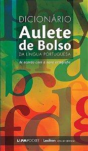 DICIONÁRIO AULETE DE BOLSO DA LINGUÁ PORTUGUESA - 930