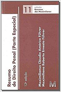 RESUMO DE DIREITO PENAL - PARTE ESPECIAL