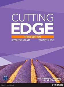 CUTTING EDGE THIRD EDITION UPPER INTERMEDIATE STUDENTS BOOK AND DVD PACK