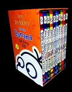BOX DIARIO DE UM BANANA - 1 AO 10