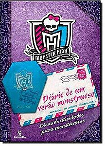 MONSTER HIGH - DIARIO DE UM VERAO MONSTRUOSO - DICAS DE ATIVIDADES PARA MONSTRINHAS