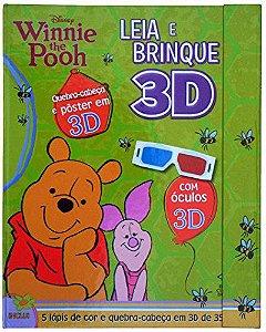 LEIA E BRINQUE EM 3D - WINNIE THE POOH