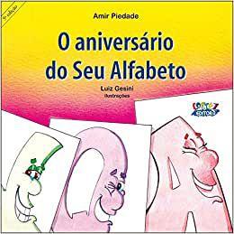 O ANIVERSARIO DO SEU ALFABETO