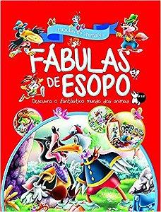 FABULAS DE ESOPO - FABULAS DE ANIMAIS - CAPA VERMELHA