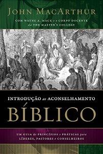 INTRODUCAO AO ACONSELHAMENTO BIBLICO