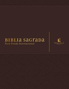 BIBLIA SAGRADA MARROM - ESPACO PARA ANOTACOES