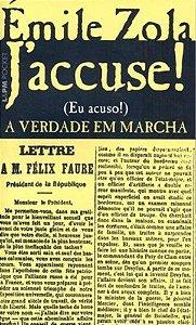 J ACCUSE! (EU ACUSO) - A VERDADE EM MARCHA - 826