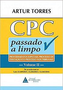 CPC PASSADO A LIMPO - VOLUME 2