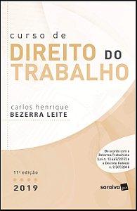 CURSO DE DIREITO DO TRABALHO 2019