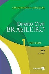 DIREITO CIVIL BRASILEIRO 1 - PARTE GERAL 2019