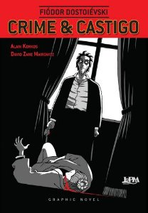 CRIME E CASTIGO: GRAPHIC NOVEL - QUADRINHOS