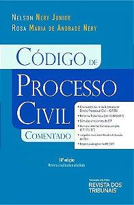 CÓDIGO DE PROCESSO CIVIL COMENTADO