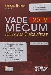 VADE MECUM CAREIRAS TRABALHISTAS 2019