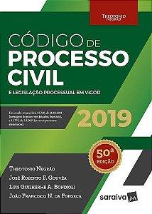 CODIGO DE PROCESSO CIVIL 2019