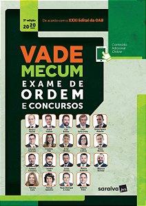 VADE MECUM EXAME DE ORDEM E CONCURSOS 2020 - 2ED