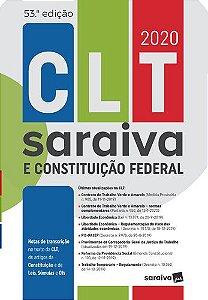 CLT SARAIVA E CONSTITUICAO FEDERAL 2020