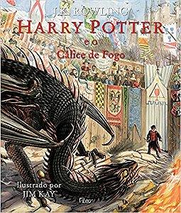Harry Potter: E o cálice de fogo (Capa dura - Ilustrado)