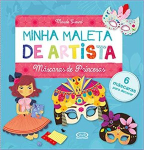 MINHA MALETA DE ARTISTA MASCARAS DE PRINCESA