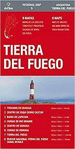 TIERRA DEL FUEGO REGIONAL MAP
