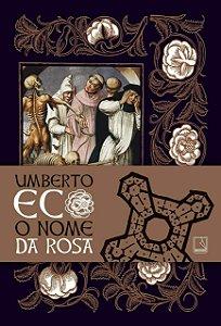 O NOME DA ROSA - CAPA DURA