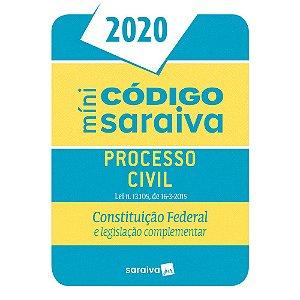 MINI CODIGO DE PROCESSO CIVIL 2020