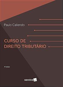 CURSO DE DIREITO TRIBUTARIO 3ED