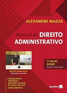 MANUAL DE DIREITO ADMINISTRATIVO 10ED - 2020