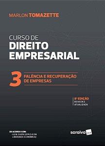 CURSO DE DIREITO EMPRESARIAL 3 - FALENCIA E RECUPERACAO DE E