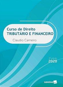 CURSO DE DIREITO TRIBUTARIO E FINANCEIRO