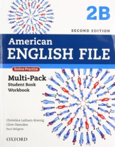 AMERICAN ENGLISH FILE 2B - MULTI-PACK