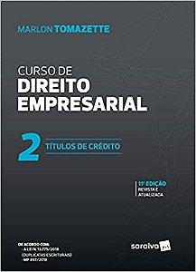 CURSO DE DIREITO EMPRESARIAL 2 - TITULOS DE CREDITO