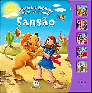 SANSAO - HISTORIAS BIBLICAS PARA LER E OUVIR