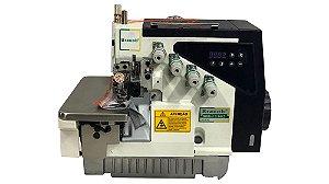 Maquina Industrial Ponto Cadeia Direct Drive Bracob (Overlock 4 FIos)