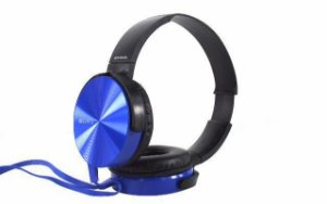 HEADPHONE SONY MDR-XB450AP COM EXTRA BASS - Azul