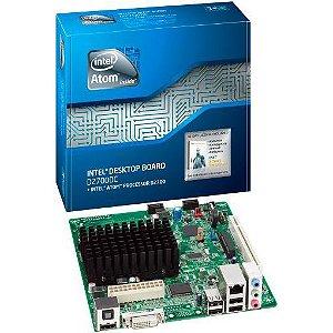 PLACA MÃE INTEL BOXD2700DC COM ATOM DUAL CORE D2700