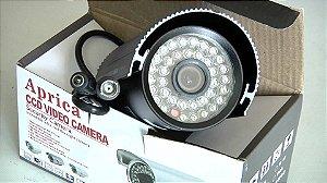 Câmera de Vigilância CCD CJ-6044 HD Com Fonte