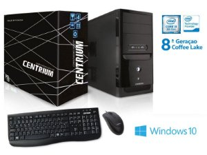 COMPUTADOR INTEL WINDOWS CENTRIUM FASTTOP 8100 INTEL CORE I3-8100 3.6GHZ 4GB DDR4 500GB WINDOWS10
