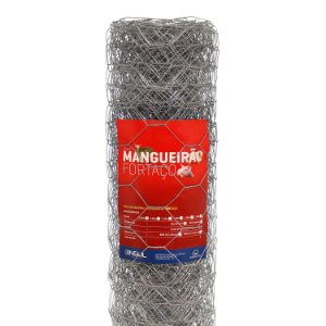 Tela Mangueirão 25m (Fio 16 1,65mm / Malha 7,6cm)