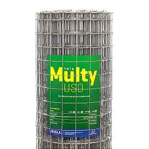 Tela Soldada Multy Uso 25m (Fio 16 1,65mm / Malha 5x5cm)