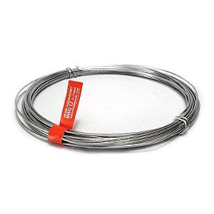 Arame Galvanizado fio 12 (2,77mm) Rolo de 1kg (22m)