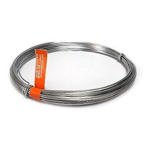 Arame Galvanizado fio 14 (2,10mm) Rolo de 1kg (38m)