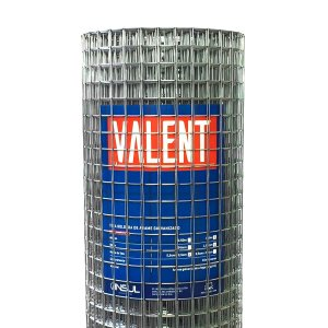 Tela Serralheiro Valent 15x1m (Fio 16 1,65mm / Malha 2,5x2,5cm)