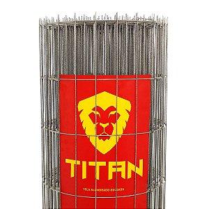 Tela de proteção residencial Titan 25m (Fio 2,50mm / Malha 5x15cm)