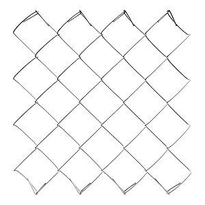 Tela Alambrado Galvanizada fio 14 (2,10mm) rolo 20m