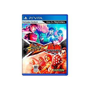 Street Fighter X Tekken - Usado - PS Vita