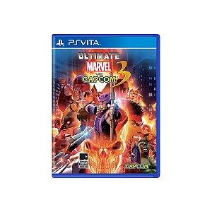 Ultimate Marvel Vs. Capcom 3 (Sem Capa) - Usado - PS Vita