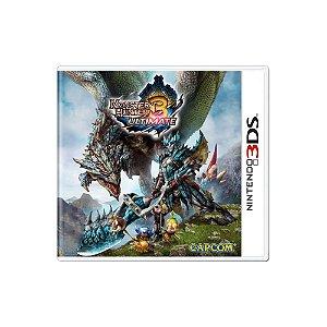 Monster Hunter 3 Ultimate - Usado - 3DS
