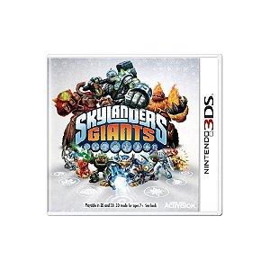 Skylanders Giants - Usado - 3DS